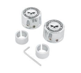 Willie G. Skull Front Axle Nut Covers