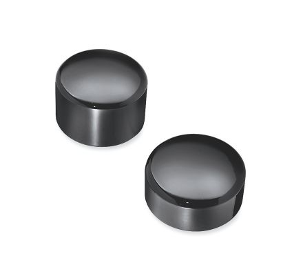 Harley-Davidson® Gloss Black Rear Axle Nut Covers 43422-09