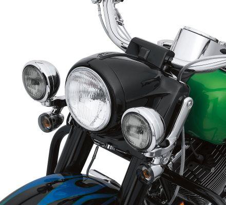 Harley-Davidson® Gloss Black Headlamp Trim Ring 46555-03B