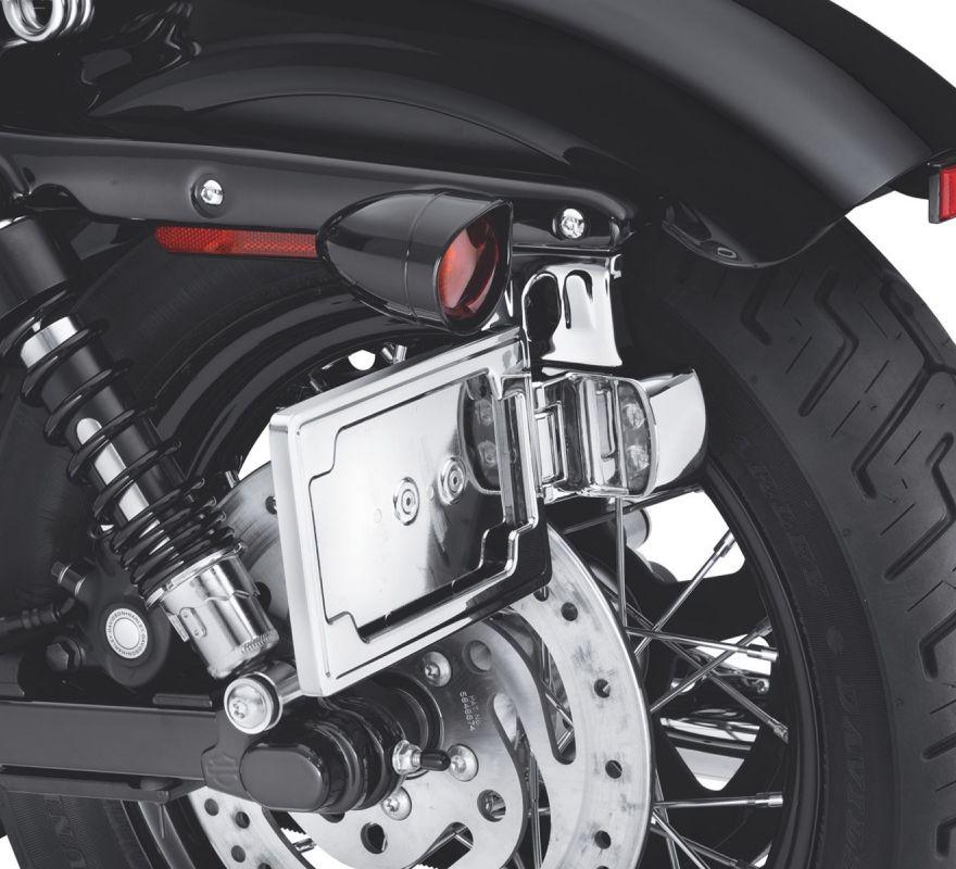 60947 10 Harley Davidson 174 Side Mount License Plate Kit