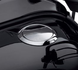 Flush-Mount Fuel Cap- Softail Blackline