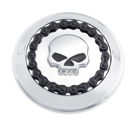 Harley-Davidson® Skull & Chain Fuel Cap Trim 61100008