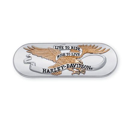 Harley-Davidson® Live To Ride Transmission End Cover Trim 61400025