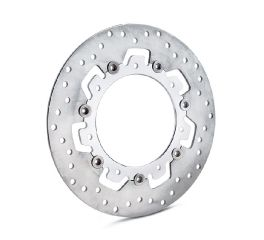 Agitator Floating Brake Rotors- Chrome Inner Spider with Raw Stainless Outer Rotor