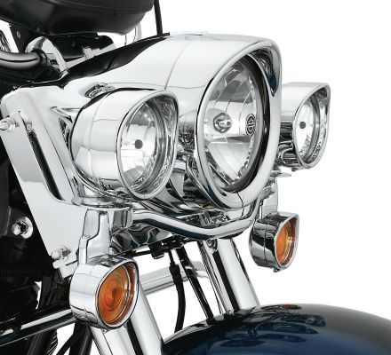 Harley-Davidson® Visor Style Passing Lamp Trim Ring 69732-05