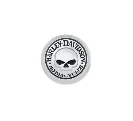 Harley-Davidson® Willie G. Skull Fuel Cap Medallion 99670-04