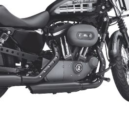 Harley-Davidson® Screamin' Eagle Buckshot Exhaust Heat Shield Kit 64924-09
