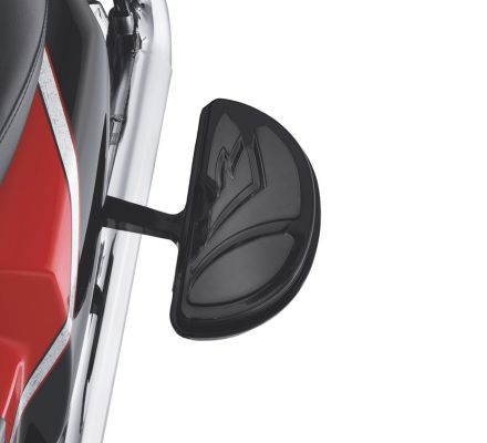Harley-Davidson® Tribal Passenger Footboard Insert Kit- Half-Moon Shape 50535-09
