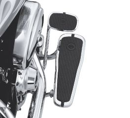 Harley-Davidson® Tapered Rider Footboard Kit with Crested Bar & Shield Insert 50634-05