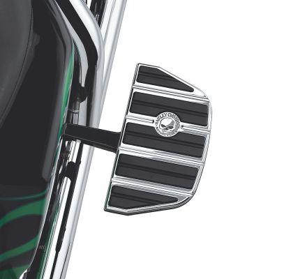 Harley-Davidson® Willie G. Skull Passenger Footboard Insert Kit- Traditional Shape 50713-04