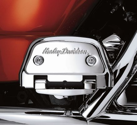 Harley-Davidson® Chrome Passenger Footboard Support Kit 53070-00A