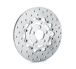 Slotted 6-Spoke Floating Brake Rotors