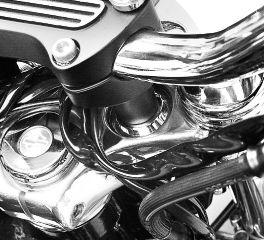 Harley-Davidson® Chrome Riser Cup Washer Kit 56486-01