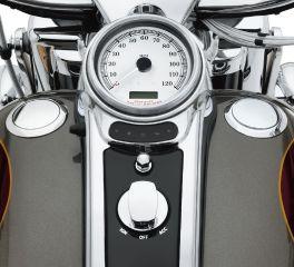 Harley-Davidson® Flush-Mount Fuel Cap and Gauge Kit 62823-08C