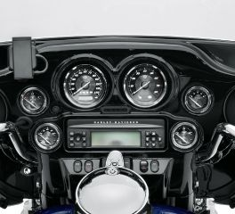 Harley-Davidson® Titanium Face Gauges 74688-10