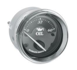 Harley-Davidson® Titanium Oil Pressure Gauge 74690-10