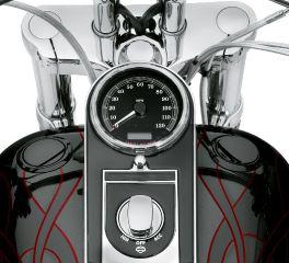Harley-Davidson® Flush-Mount Fuel Cap and Gauge Kit 75014-06C