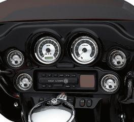 Harley-Davidson® Fuel Gauge - Spun Aluminum Face 75113-08
