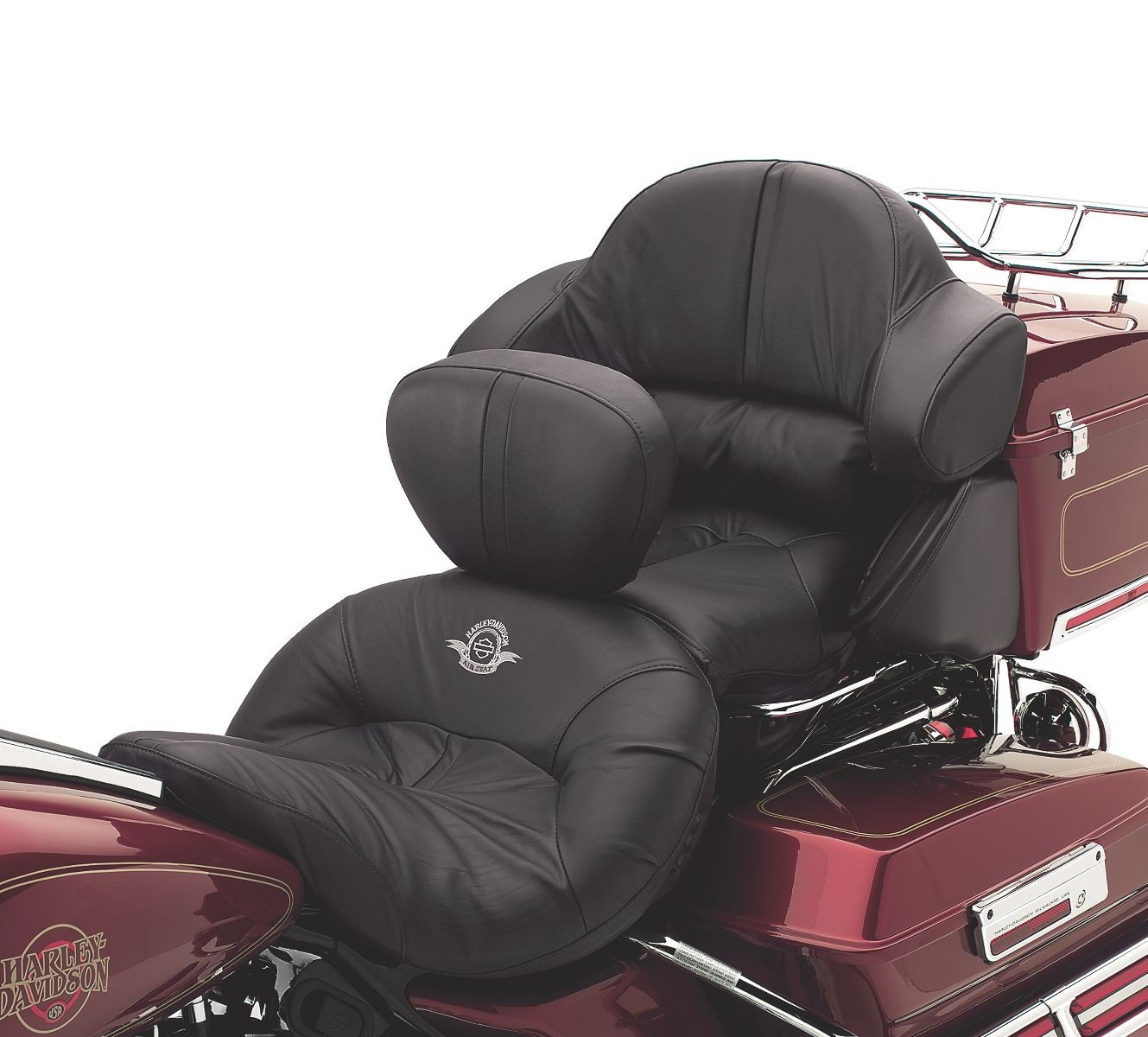 52333 97e Harley Davidson Road Zeppelin Air Adjustable Seat Leather Protectant Chester