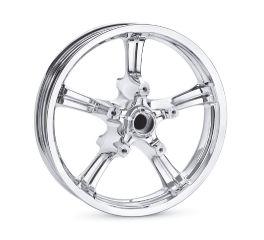 Harley-Davidson® Anarchy 5-Spoke 18 in. Front Wheel 55066-11