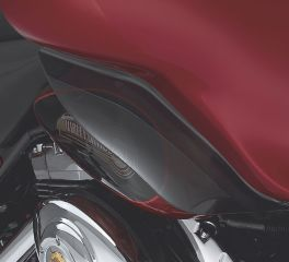 Harley-Davidson® Dark Smoked Fairing Air Deflector 57740-05