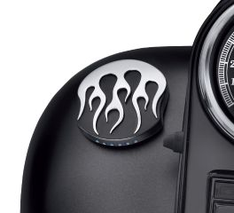 Harley-Davidson® Midnight Flames LED Fuel Gauge 75345-10A
