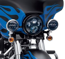 Harley-Davidson® 4 in. Daymaker™ Projector LED Auxiliary Lamps 68000173
