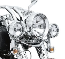 Harley-Davidson® Halogen Headlamp- Clear Smooth Lens with Reflector Optics 68345-05A