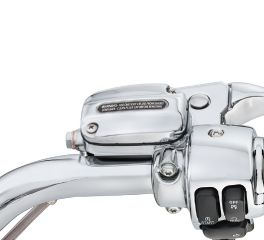 Harley-Davidson® Chrome Clutch Bracket and Master Cylinder Reservoir Kit 42117-08A