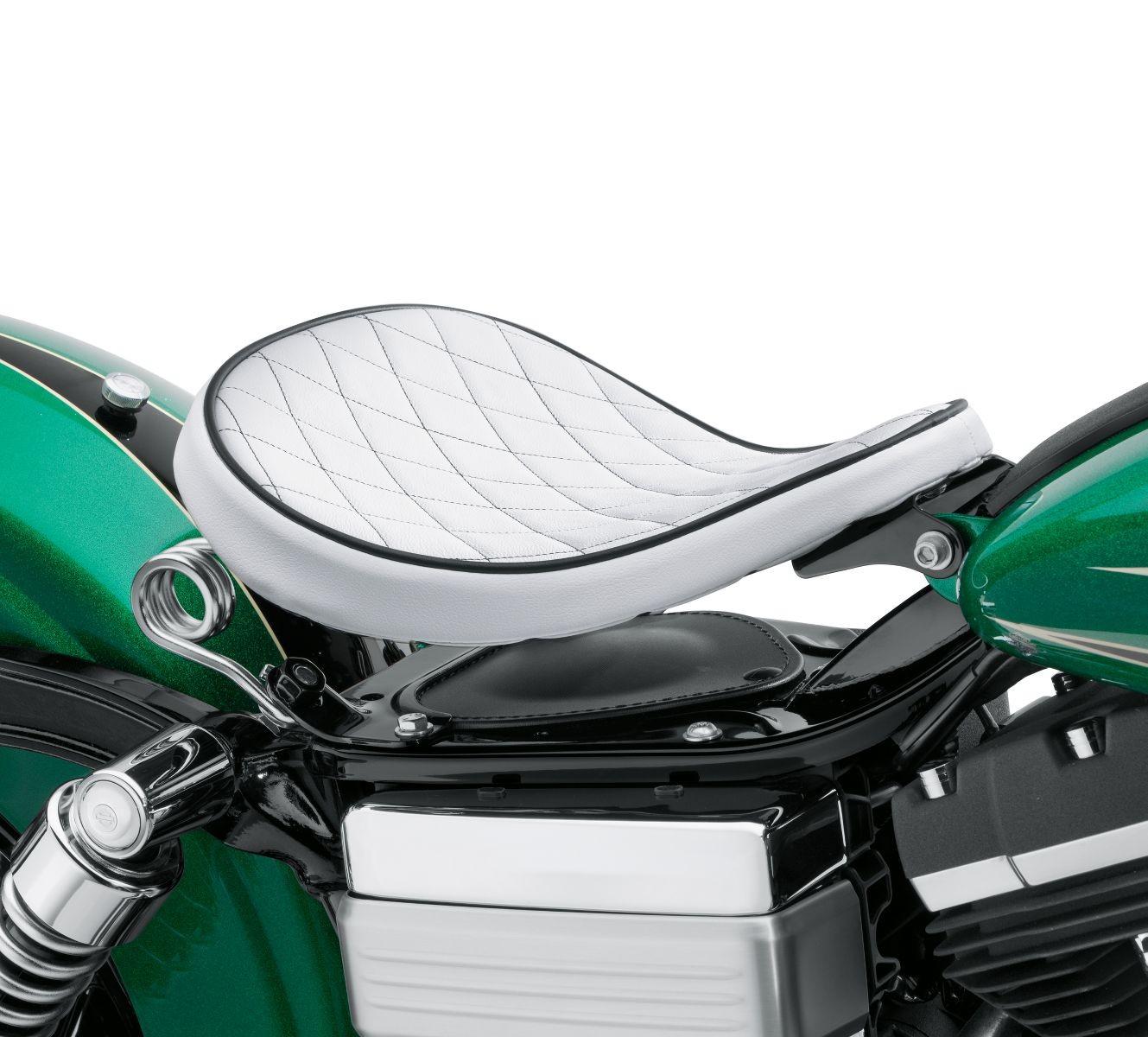 52000275 Harley Davidson White Diamond Solo Spring Saddle Leather Protectant Chester