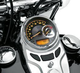 Harley-Davidson® Combination Analog Speedometer/Tachometer MPH 74774-11C