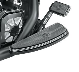 Harley-Davidson® Edge Cut Billet Style Rear Brake Lever - Standard Length 41600079