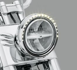 Harley-Davidson® Electra Glo Light Ring - 7 in. Headlamp 61400154