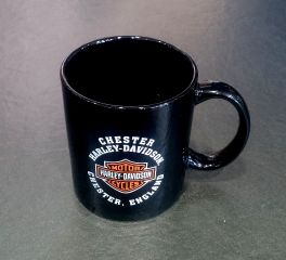 Harley-Davidson® Chester Harley-Davidson Dealer Coffee Tea Mug Cup, Global Products, Inc. MUG/CHESTER