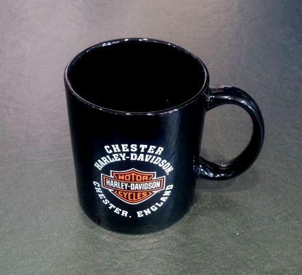 Harley-Davidson® Chester Harley-Davidson Dealer Coffee Tea Mug Cup, Global Products, Inc. MUG/CHESTER
