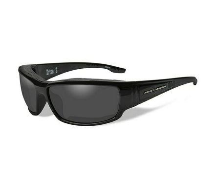 Harley-Davidson® HD Drive2 Smoke Grey in Gloss Black Frame Sunglasses, Wiley X EMEA LLC HADRI01