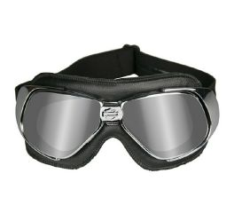 Harley-Davidson® HD Fighter Grey Silver Flash in Chrome Black Frame Goggles, Wiley X EMEA LLC HGFIG01