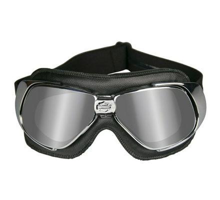 Harley-Davidson® HD Fighter Grey Silver Flash in Chrome Black Frame Goggles, Wiley X EMEA LLC HGFIG01