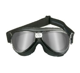 Harley-Davidson® HD Speed Grey Silver Flash in Chrome Black Frame Goggles, Wiley X EMEA LLC HGSPE01