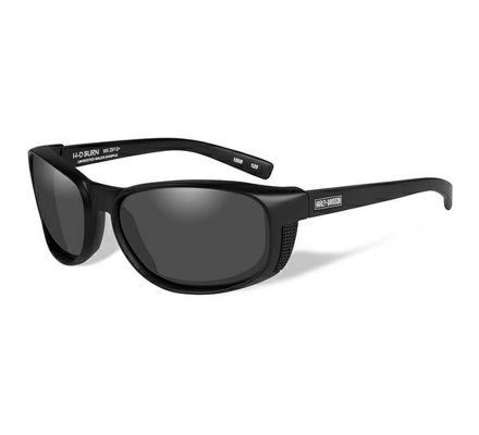 Harley-Davidson® HD Burn Smoke Grey in Matte Black Frame Sunglasses, Wiley X EMEA LLC HRBUR01