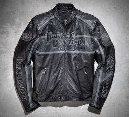Men's Classic Cruiser Leather Jacket