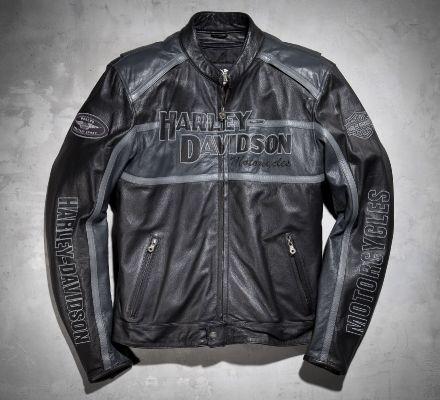 Harley-Davidson® Men's Classic Cruiser Leather Jacket 98140-10VM