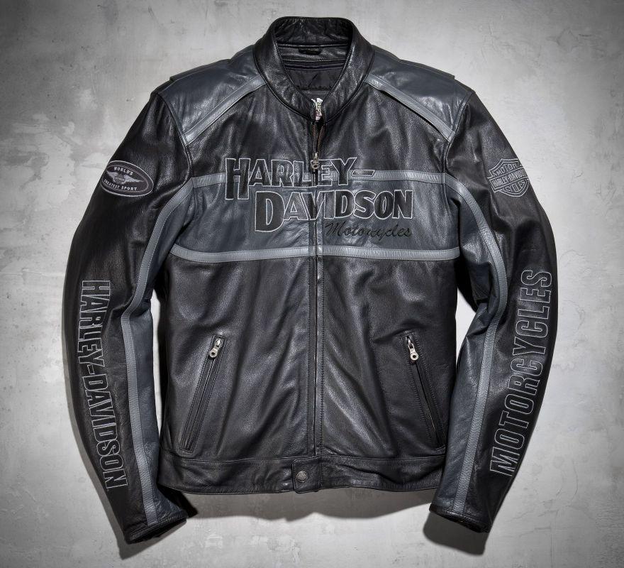 Harley Davidson 174 Men S Classic Cruiser Leather Jacket