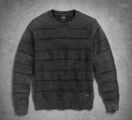 Men's Textured Stripe Sweater 96528-17VM