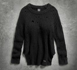 Women's Destroyed Sweater 96127-17VW