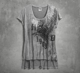 Women's Metallic Print Tee