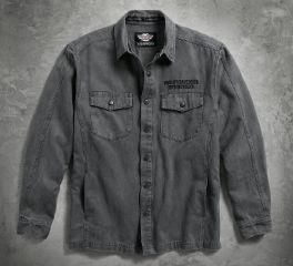 Men's Sueded Shirt Jacket