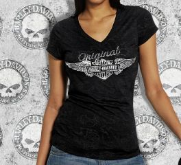 Women's Original Wings Tee Top T-Shirt
