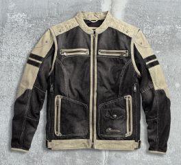 Men's Knave Textile/Leather Riding Jacket