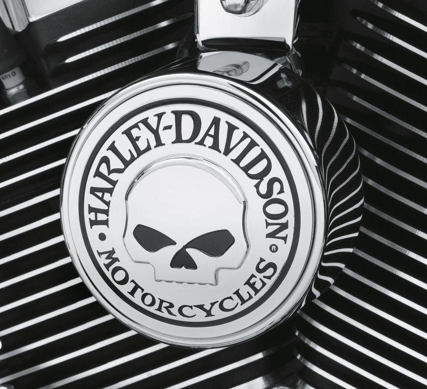 61300622 Harley Davidson 174 Willie G Skull Horn Cover